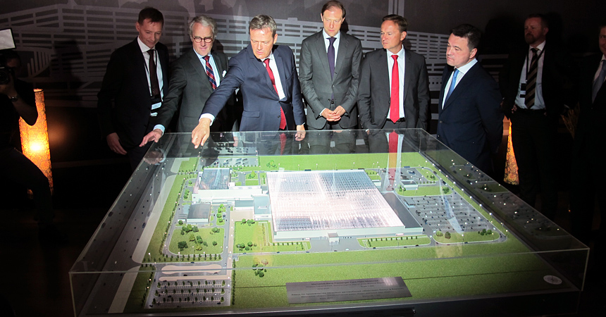 Завод по производству Mercedes E-klasse в России